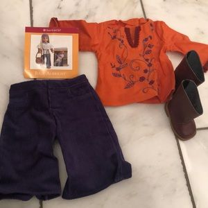 American Girl Julie casual outfit